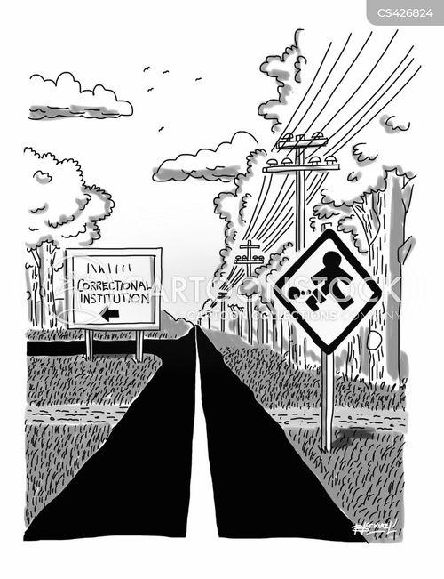 prison escape cartoon