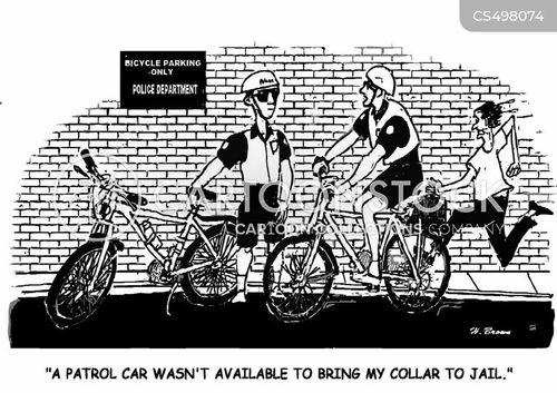 cop car cartoon