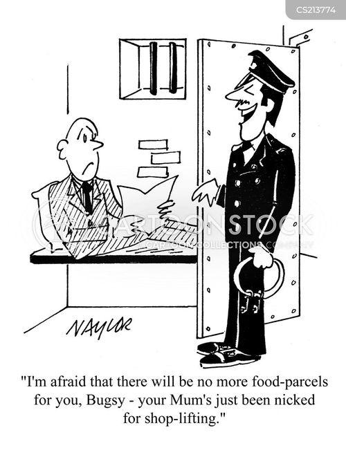 food parcel cartoon
