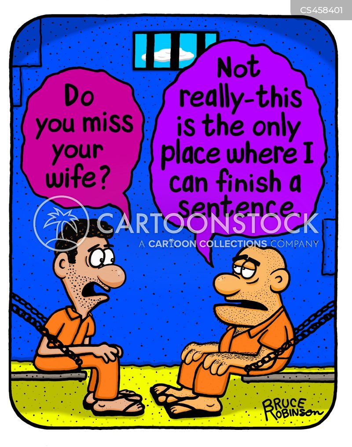 bossy wife cartoon