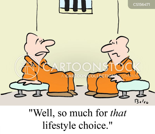 life style cartoon