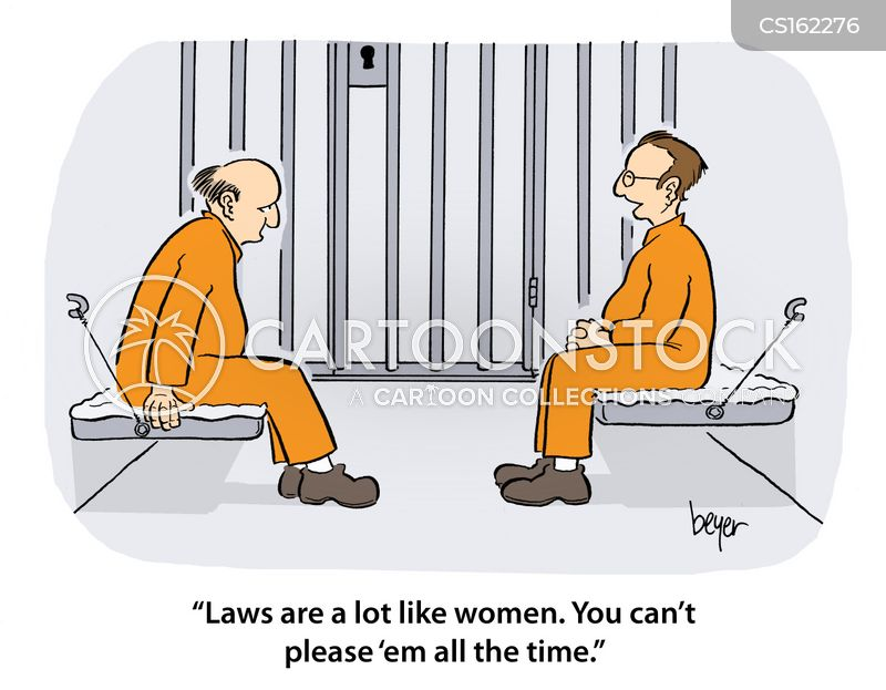 law breaker cartoon