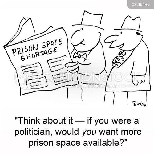 prison space cartoon