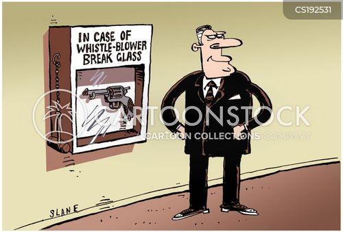 whistleblowers cartoon