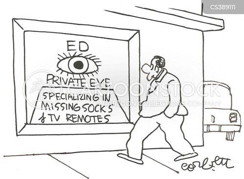 private dicks cartoon