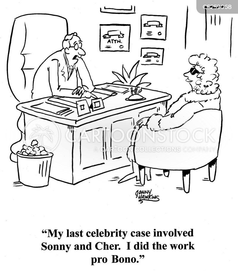 rich and famous cartoon