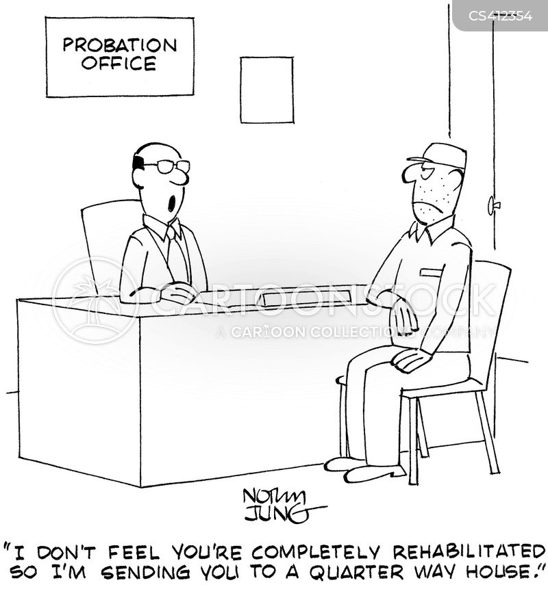 probation officers cartoon