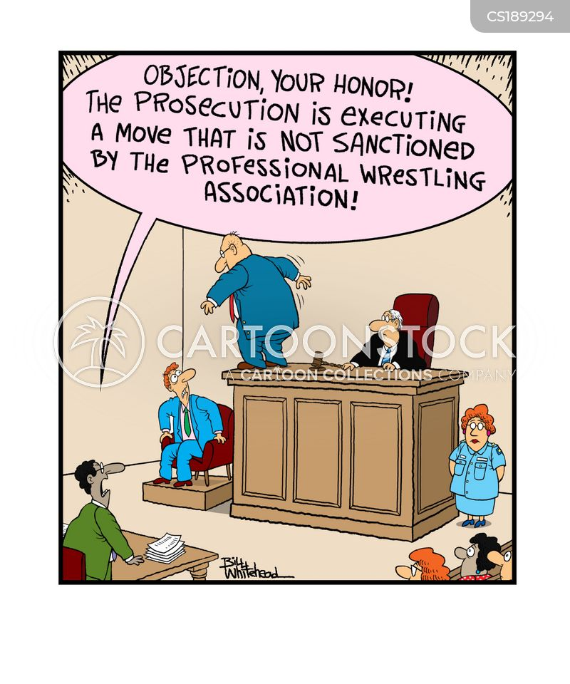 wrestler cartoon
