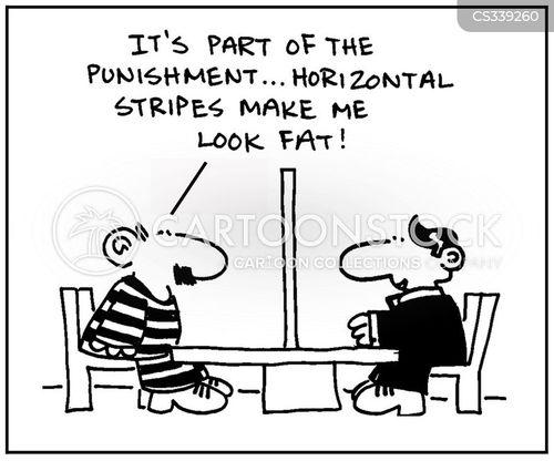 horizontal stripe cartoon