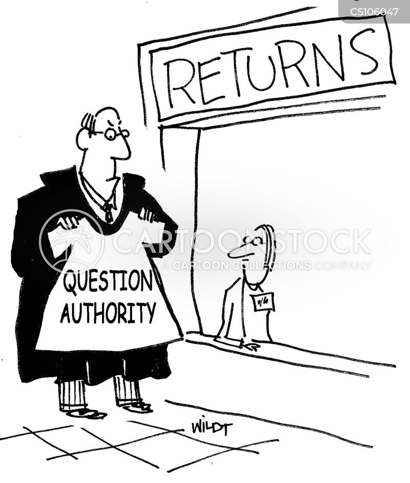 returns departments cartoon