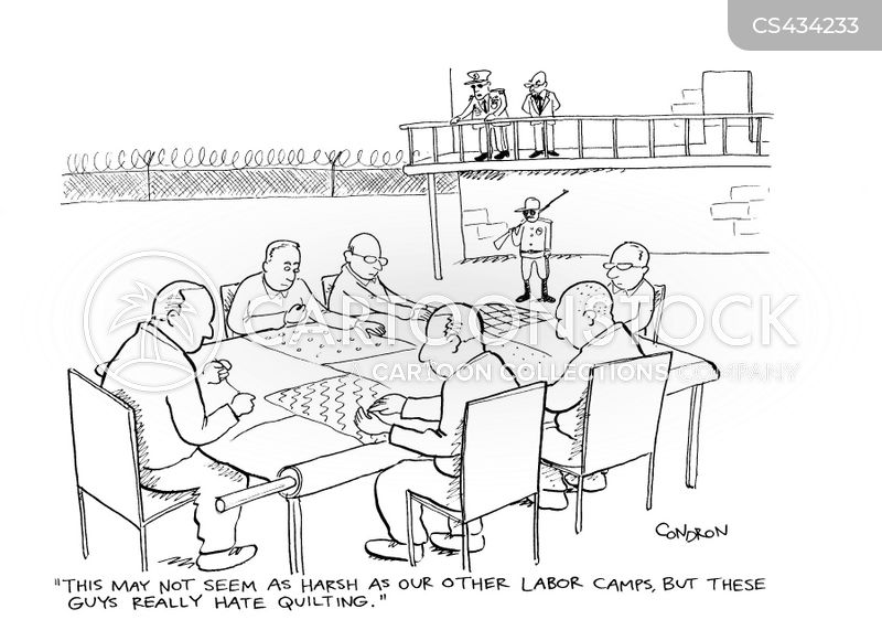 labour camp cartoon