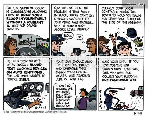 racial profiling cartoon