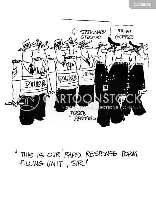rapid response unit cartoon