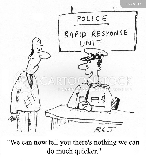 response times cartoon