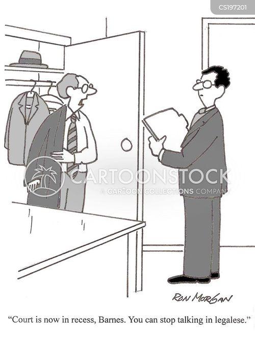 legalese cartoon