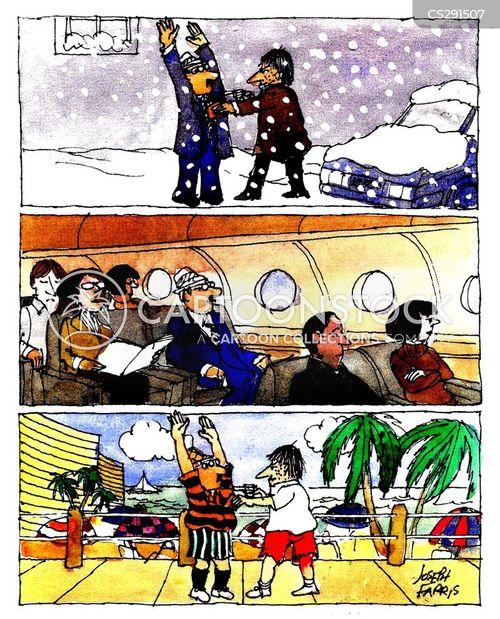 crime waves cartoon