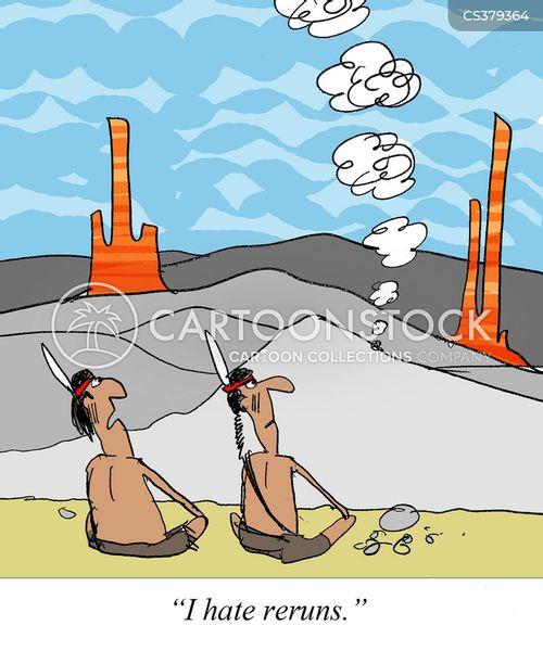 rerun cartoon