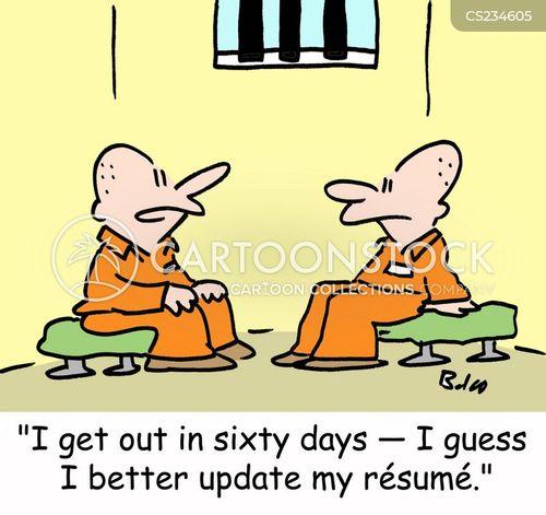 leaving prison cartoon