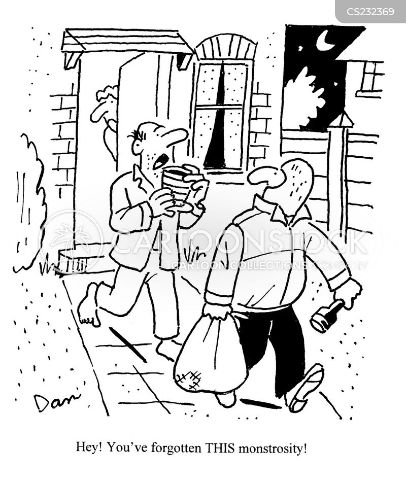 burgler cartoons and comics funny pictures from cartoonstock