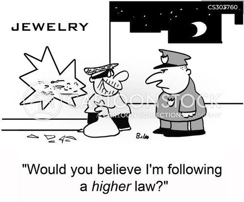 jewelry store cartoon