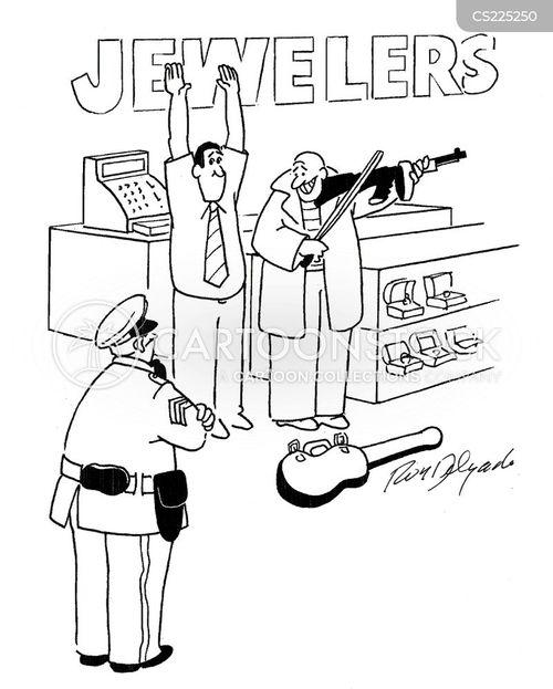violin cases cartoon