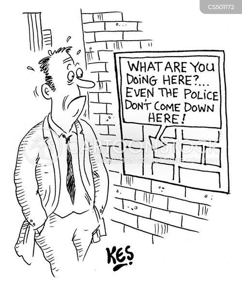 rough neighbourhoods cartoon