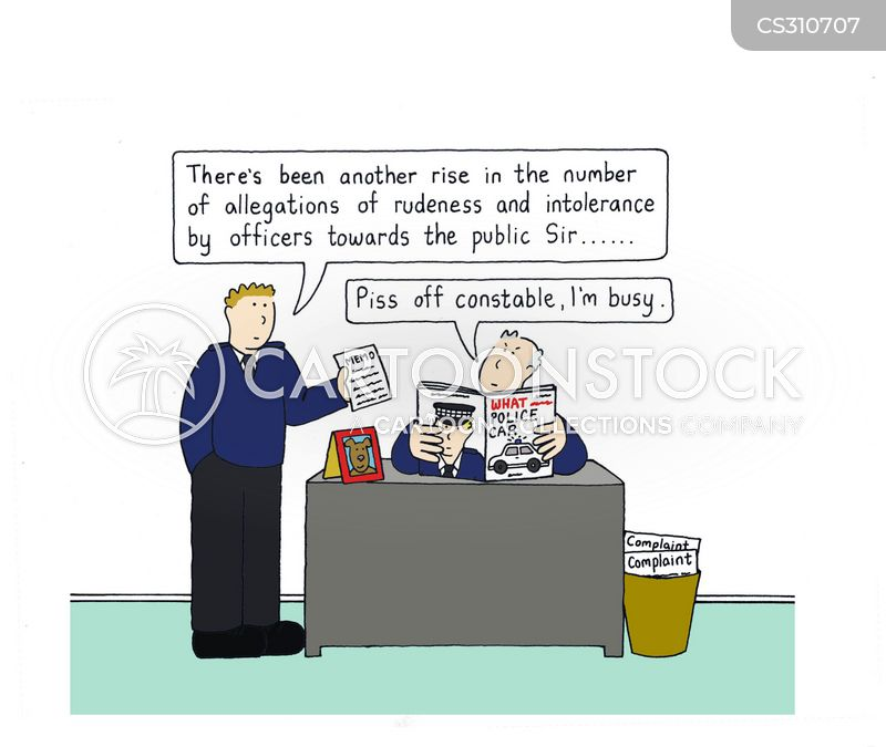 crime victim cartoon