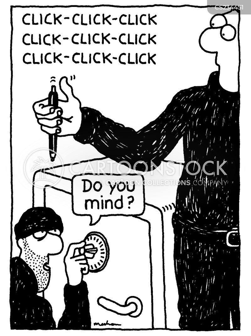 Safecracker Cartoon