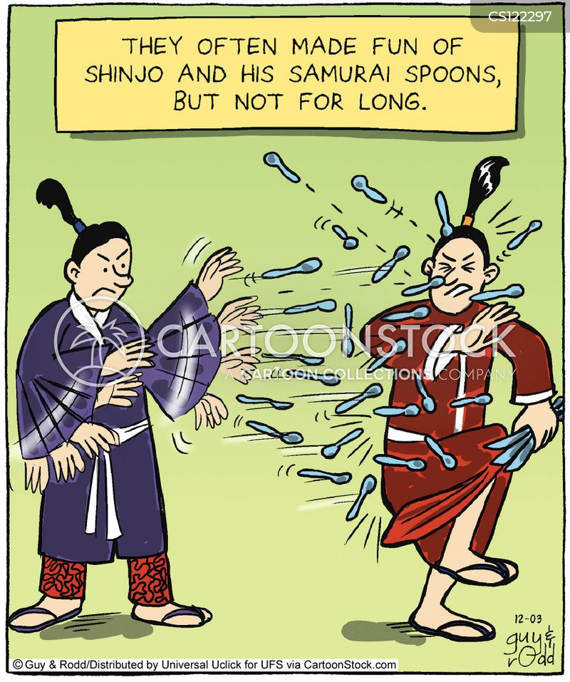 asian martial arts cartoon
