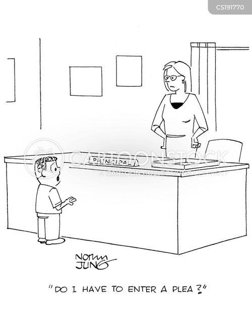 headmistress cartoon