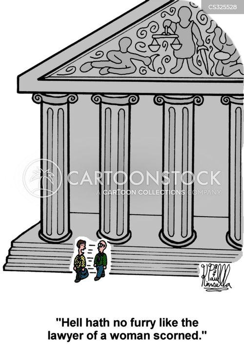 divorce courts cartoon