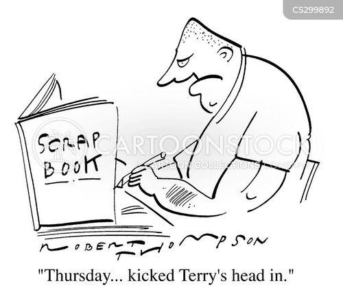 diarist cartoon