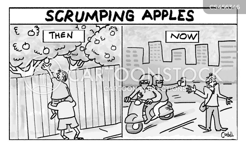 orchards cartoon