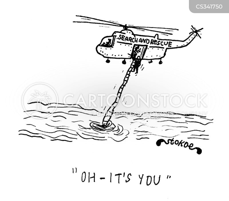 search and rescue cartoon