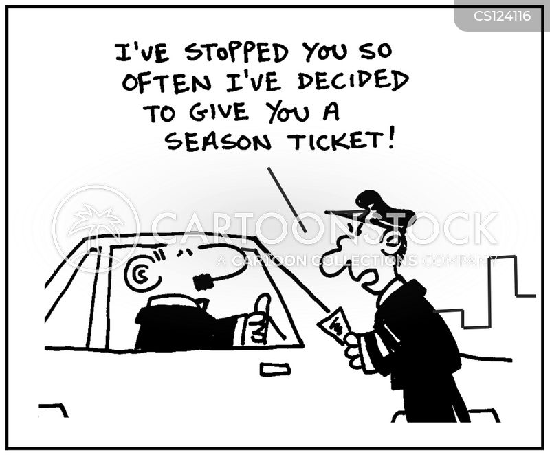 season ticket cartoon