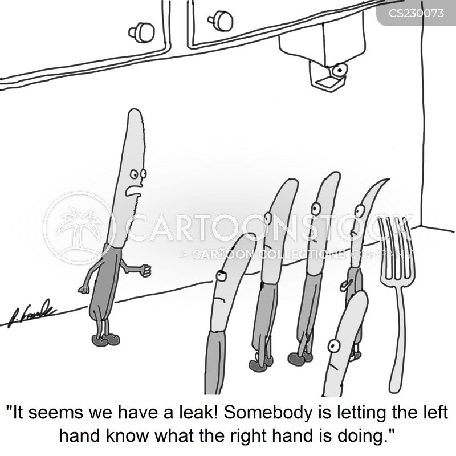 left hand cartoon