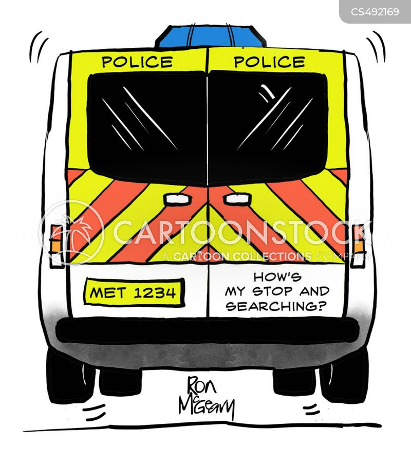 police and criminal evidence act cartoon