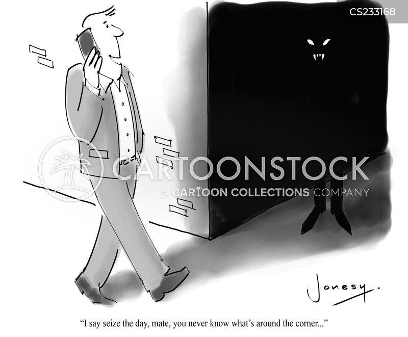 carpe diem cartoon