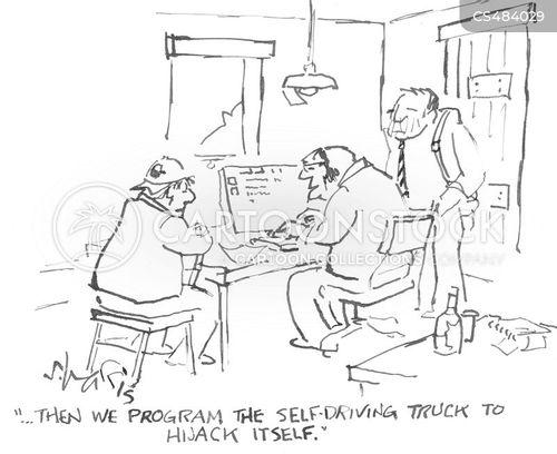 autonomous cartoon