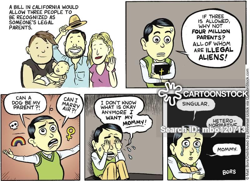 adopted parents cartoon