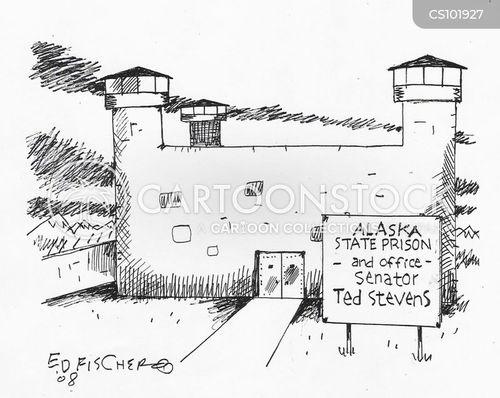 in prison cartoon