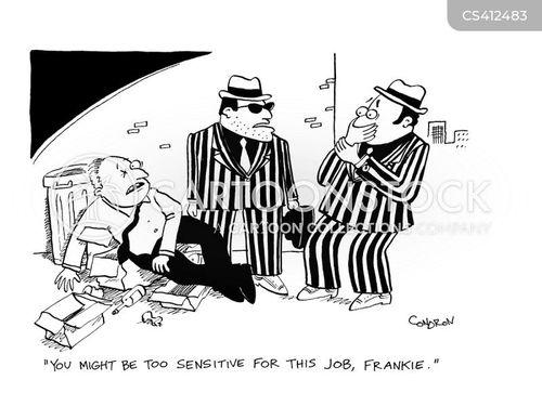 violent society cartoon