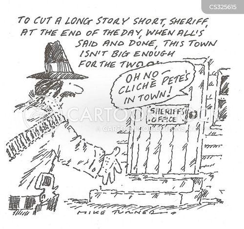 gunslinging cartoon