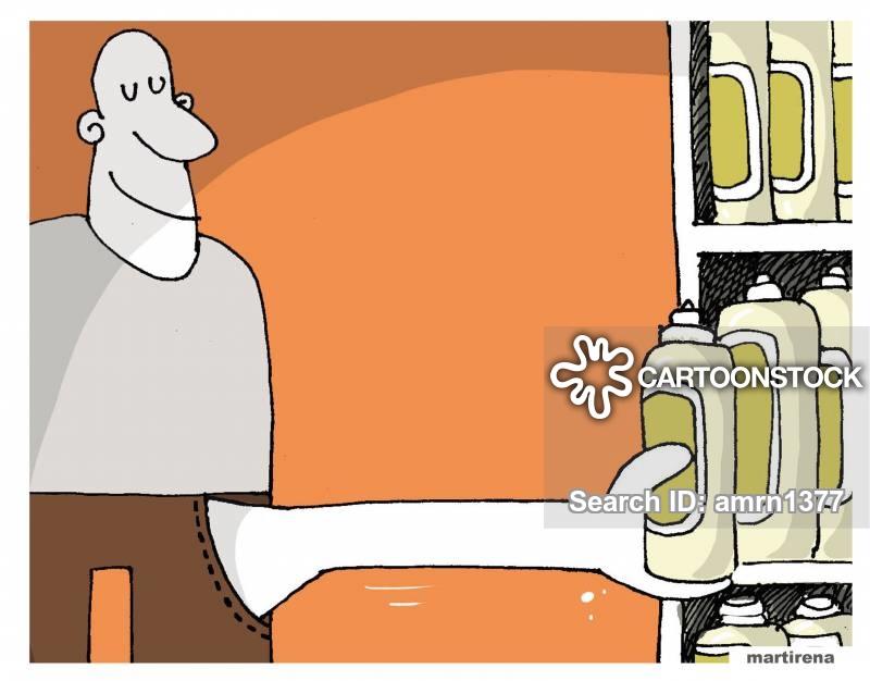 stolen goods cartoon