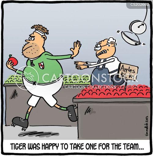 teamworks cartoon