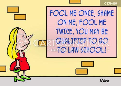 fool me once cartoon