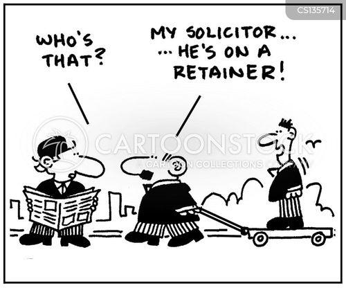 retainers cartoon