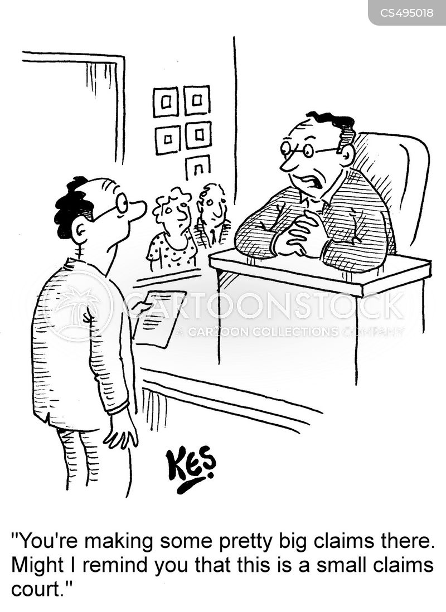 legal disputes cartoon