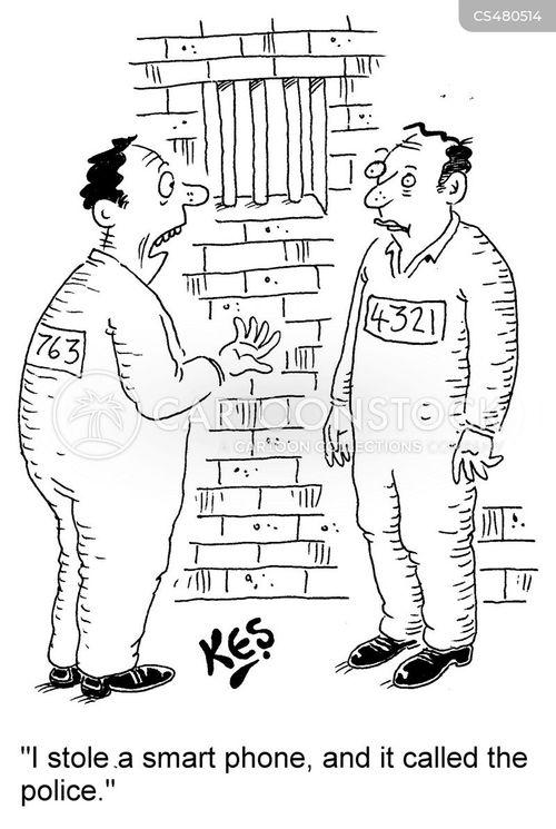 anti-theft cartoon