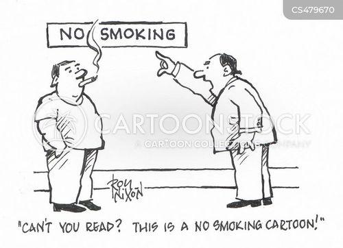 cigarette bans cartoon